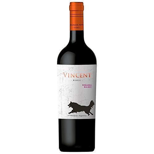 Vinho Tinto Vincent Bonarda Malbec 750 ml Vincent Bonarda, Vermelho Intenso