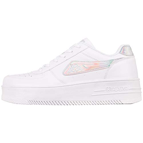 Kappa 243001gc-1017_39, Sneakers Unisex-Adulto, Bianco, EU