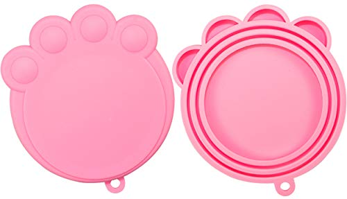 Why Should You Buy Vcalabashor Can Covers for Dogs and Cats/Soft Safe Silicone Can Lids / 2 Pack Pin...