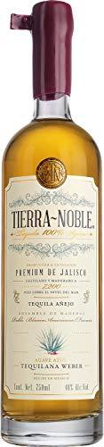 Tequila Hornitos Black Barrel marca TIERRA NOBLE