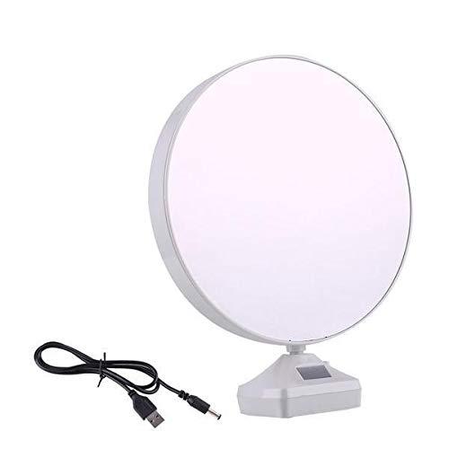 Oleander Magic Mirror Photo Frame| Magic Mirror LED Photo Frame| Birthday/Valentine's Gift| Surprise Decoration| Attractive Mirror| Round Mirror