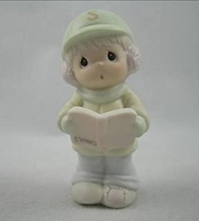 Precious Moments Phillip Boy Carolling Figurine Sugar Town 529494