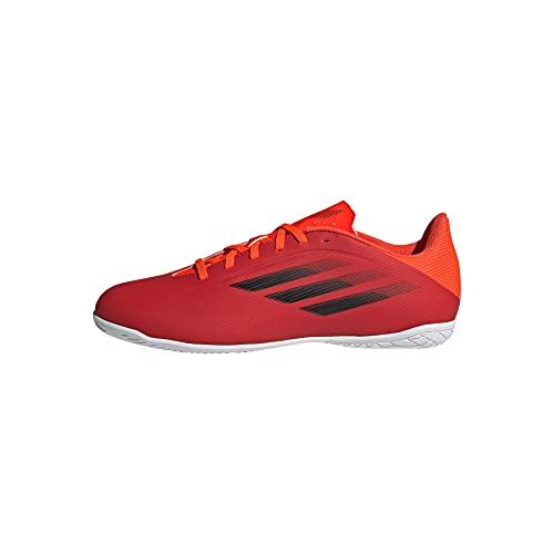 adidas X SPEEDFLOW.4 IN, Zapatillas Deportivas Unisex Adulto, Rojo/NEGBÁS/Rojsol, 41 1/3 EU