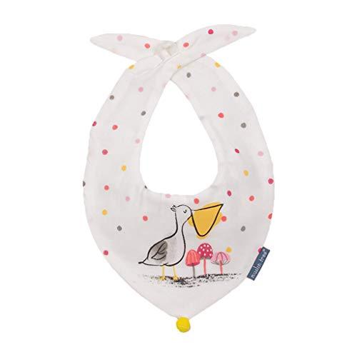 Yuanshenortey - Babero de algodón con forma de triángulo, toalla de mano, pañuelo, pañuelo, accesorio para niños pequeños