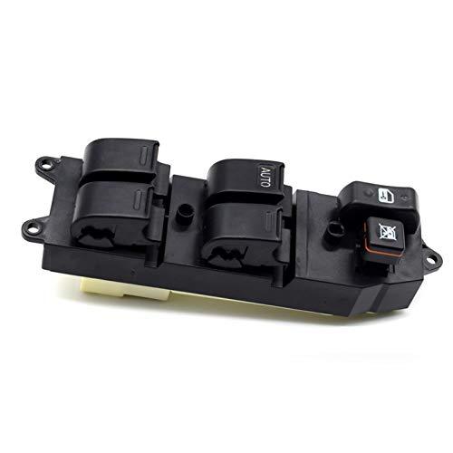 YYDMBH Interruptor elevalunas eléctrico Interruptor de Control Maestro Levantador de Ventanas eléctricas 84820-60090 8482060090 para Toyota Echo Yaris T.U.V 4RUNNER HILUX Land Cruiser Camry