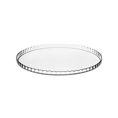 Dajar 10345 Tortenplatte 32cm Patisserie PASABAHCE, Glas, Transparent, 32 x 32 x 1,6 cm