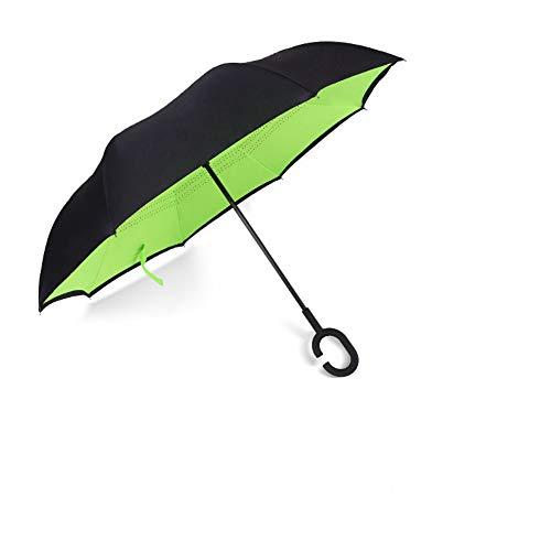 no logo YYouRuiReverse Umbrella Double-Layer C-Shaped Reverse Umbrella