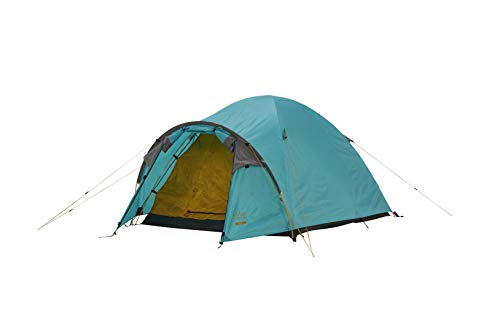 Grand Canyon TOPEKA 2 - Tienda de cúpula para 2 personas, ultraligera, impermeable, tamaño pequeño, para trekking, camping, exteriores | Blue Grass (azul)