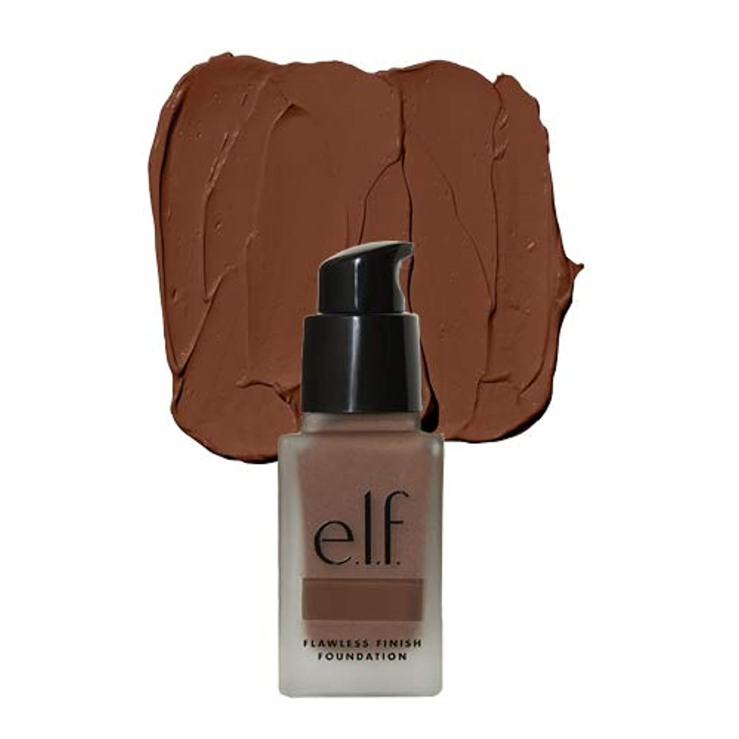 フリンジ合意スロベニア(6 Pack) e.l.f. Oil Free Flawless Finish Foundation - Mocha (並行輸入品)