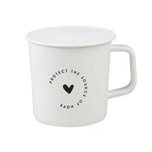 Kreative Keramikbecher Nordic Style Plastik Kaffeetasse Becher Tee Milchbecher Deckel Home Trinkgeschirr Tee Trinker Abdeckung Spezial Schlitz Tasse-A