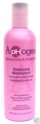 Aphogee Entretien Sérieux et équilibrage de protection Crème hydratante pour cheveux (µ l'humidité Améliore la gestion, Douceur et Brillance) 237 ml