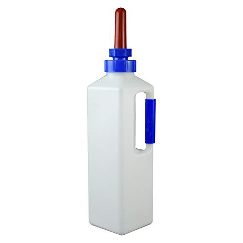 Fütterflasche mit Sauger von Farm & Ranch für Kälber, Lämmer,  3 Liter, Schraubverschluss, Aufzuchtflasche