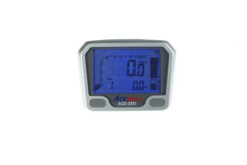 Acewell ACE-3851 Quad / ATV Tachometer mit Drehzahlmesser und Kraftstoffanzeige speziell für den Yamaha YFM660R und YFM700R Raptor