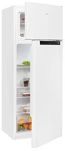 Exquisit Kühl- und Gefrierkombination KGC270-45-040E weiss | Standgerät | 205 l Volumen | Weiß