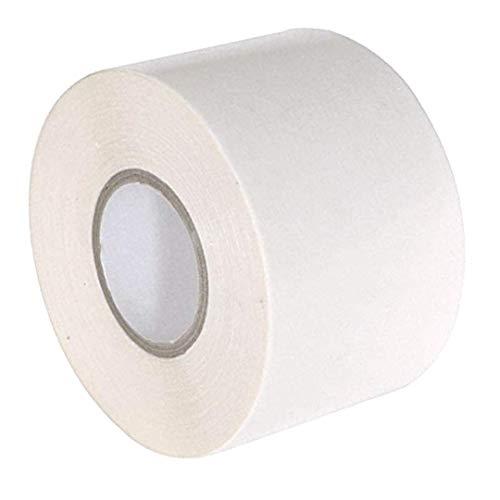 Gocableties Isolierband Weiß, 50 mm x 33 m, Selbstklebende, Starke Rolle