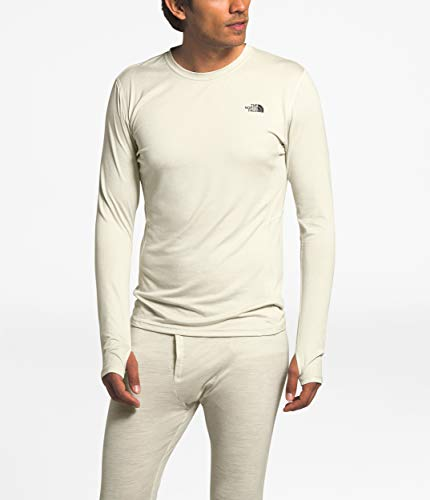 The North Face Warm Poly Crew Wild Oat Heather LG