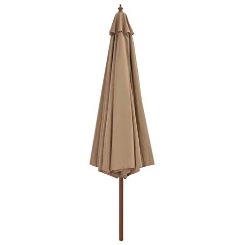 XNJJ Außensonnenschirm Sonnenschirm Regenschirm großer Sonnenschirm Werbung Dach im Freien Stall Strand Aktivität Regenschirm Bananenregenschirmnachforschender for Garten Rasen Garten im Freien Leben