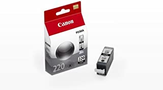 Canon CNMPGI220  PGI-220 Ink Tank in Retail Packaging-Black