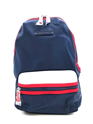 Tommy Hilfiger Zaino – Blu – Zaino per la scuola – Zaino – Zaino per il tempo libero – 40 x 30 x 15 cm – Maniglia – bagaglio a mano 0090