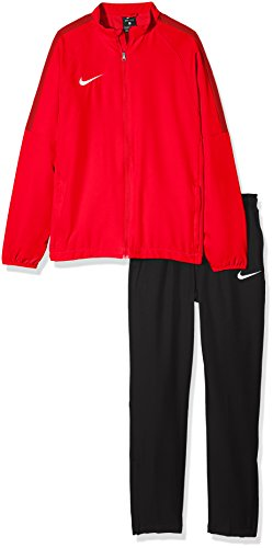 Nike Jungen Y NK Dry ACDMY18 TRK Suit W Tracksuit, University red/Black/Gym red/(White), S