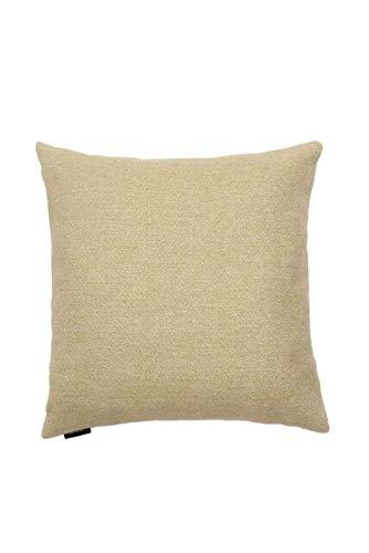 McAlister Textiles Signature Collection   Housse de Coussin Carré à Chevrons en Tweed   60cm x 60cm en Vert Sauge   Housse de Coussin décorative pour canapé, lit et Sofa