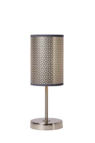 Lucide MODA - Lampe De Table - Ø 13 cm - Gris