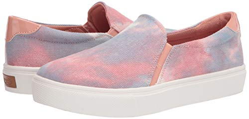 Dr. Scholl's Shoes Women's Nova Sneaker, Blue and Pink Tie Dye, 6