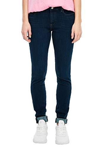 s.Oliver Damen 04.899.71.6060 Skinny Jeans, Dark Blue, 42W 32L EU