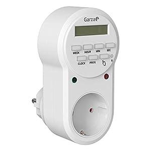 Garza 400602 Power - Temporizador digital, 8 programas, 7 dias