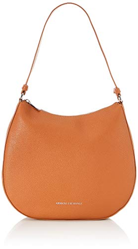 Armani Exchange dames kleine Pebble Hobo Bag schoudertas, 28x8x31,5 cm