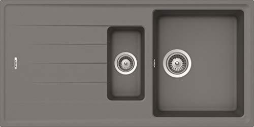 respekta by chock COLUMBIA1.5G diskbänk, betonggrå