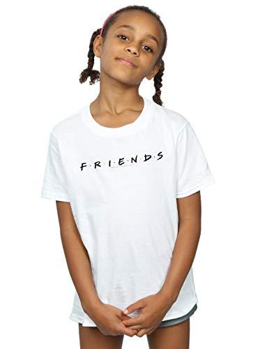 Friends Niñas Text Logo Camiseta Blanco 12-13 Years