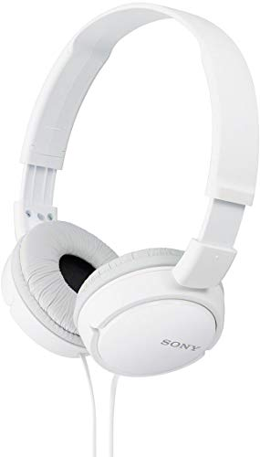 Sony MDR-ZX110A Wired On Ear Headphone without Mic (White)