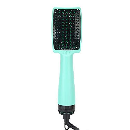 Peine secador de pelo eléctrico, conveniente peine secador de pelo multifuncional de...