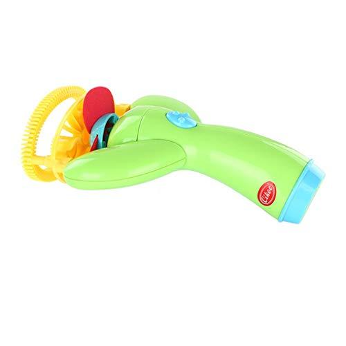Willekeurige kleur Elektrische bellenmachine bellenmachine, bellenstokjes bellenstokjes bellenmaker Automatische blazer Speelgoedgeschenken Kinderen Buitenspeelgoed Leuk bellen speelgoed