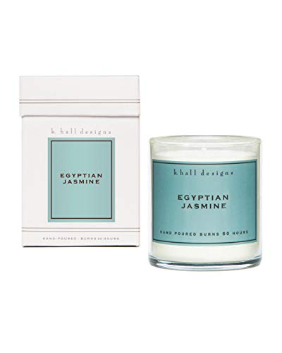 K. Hall Designs Jar Candle, Egyptian Jasmine