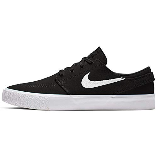 Nike Unisex-Erwachsene Sb Zoom Janoski Rm Fitnessschuhe, Mehrfarbig (Black/White/Thunder Grey/Gum Light Brown 000), 46 EU