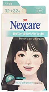 3M Nexcare Blemish Clear Cover Light Easy Peel 32+32 Patches 3M ネクスケア ブレミッシュ クリア カバー ライト イージー ピール