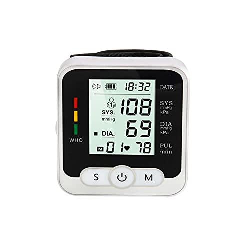 SXTYMV Tensiómetro para el Brazo Pantalla de arritmia para una medición precisa de la tensión Arterial y del Pulso con