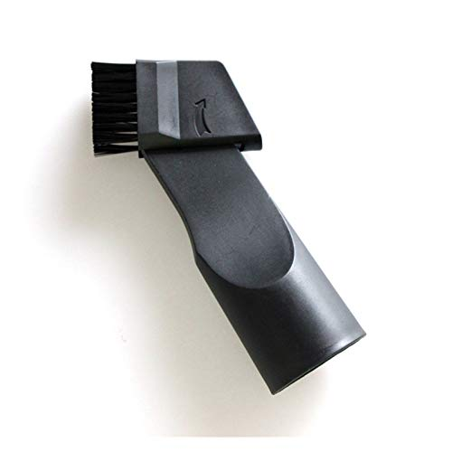 U-kitz 1pc Aspirateur Plat Aspiration tête de Brosse for Bissell/Dyson/Shark 32mm Buse Brosses de Nettoyage 2en1 Coin poussière Nettoyer Les pièces
