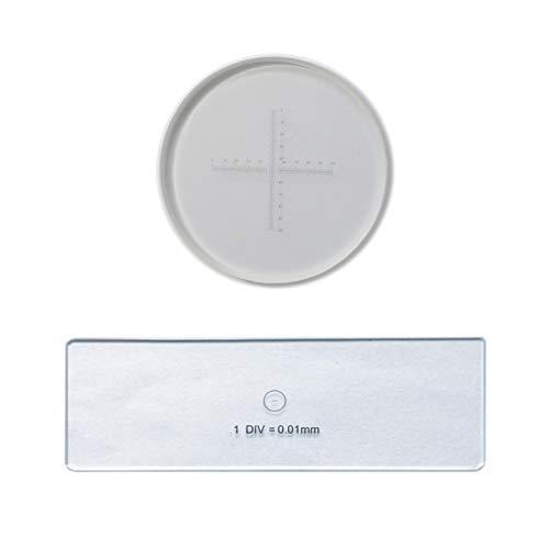 Micrómetro ocular de alta precisión de 0,1 mm y micrómetr