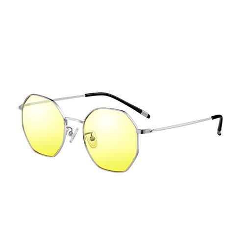 KLIM Juliette - Blaulichtfilter Brille für Frauen + Brille für PC, Handy und Fernseher + filtern 92% des Blaulichts + Anti-Müdigkeit, Anti-Blaulicht, UV-Schutz [Neue 2020]