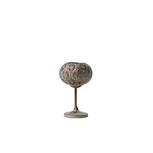 Aiyow Kandelaar Antiek Koper Metaal Wax Europese Retro Oude Smeedijzeren Holle Gesneden Sieraden@Klein