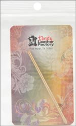 Tandy Leather Factory Perma Lok Lacing Needle Use with 3/32 inch or 1/8 inch Lace 119301 (3-Pack)