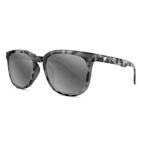 Knockaround Paso Robles - Gafas de sol para hombre y mujer, protección UV400 completa, Gris (Granite Tortoise Shell/Silver Smoke), Talla única