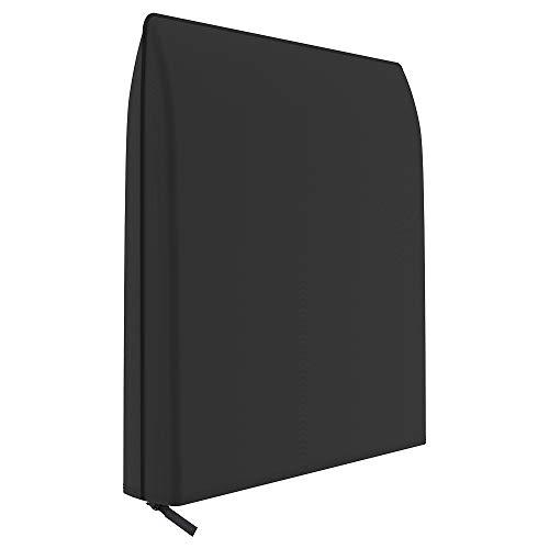 New_Soul - Funda para Silla reclinable (Plegable, Tela Oxford 190T, Impermeable, 93 x 82 cm), Color Negro