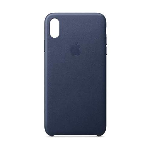 Apple Custodia in pelle (per iPhoneXSMax) - Blu notte