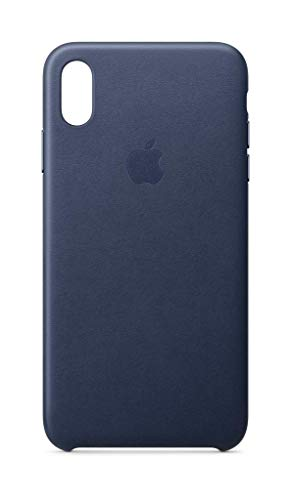 Apple Leder Case (IphoneXs Max) - Mitternachtsblau