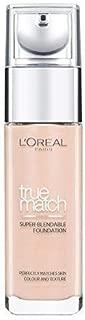 Loreal True Match Foundation - 1.R/1.C Rose Ivory, 30ml