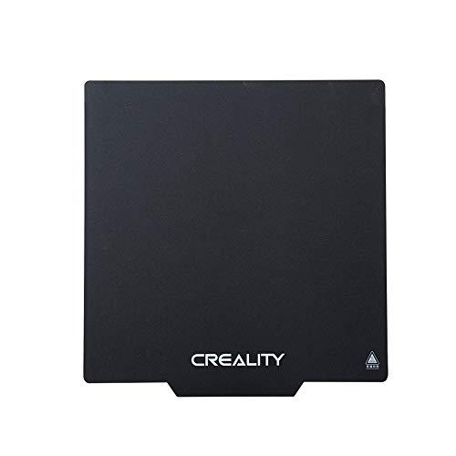 Creality 3D CR-10 Actualización Magnetic Build Superficie del Plato Adhesivo Pads Ultra Flexible 3D extraíble imprimible Cama calentada 310 x 310 mm para Impresora 3D CR-10 / CR-10S